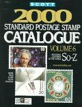 Scott 2000 Standard Postage Stamp Catalogue: Countries of the World So-Z (Vol 6)