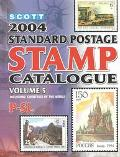 Scott 2004 Standard Postage Stamp Catalogue Countries of the World P-Sl