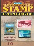 Scott 2005 Standard Postage Stamp Catalogue Countries of the World J-O