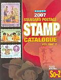 Scott 2007 Standard Postage Stamp Catalogue Countries of the World So-z