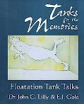 Tanks for the Memories Floatation Tank Talks