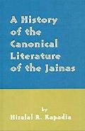 History of the Canonical Literature of the Jainas As