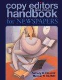 Copy Editors Handbook for Newspapers