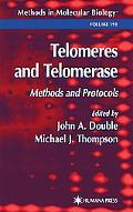 Telomeres and Telomerase Methods and Protocols