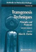 Transgenic Techniques Principles and Protocols