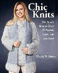 Chic Knits Mix Novelty Yarns To Create 25 Ponchos, Capes, Tops and Purses