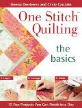 One Stitch Quilting the basics