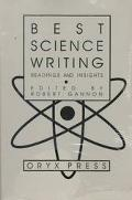 Best Science Writing Readings and Insights