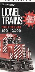 Greenberg's Guides Lionel Trains Pocket Price Guide 2009
