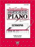 David Carr Glover Method for Piano / Lessons / Level