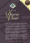 Biblia del Diario Vivir: 1960 Reina-Valera Revision, piel elaborada vino, indice (Life Appli...