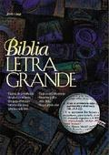 Biblia Letra Grande Imitacion, Piel Negra