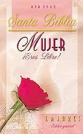 Santa Biblia Mujer Eres Libre!