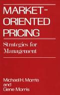 Market Oriented Pricing Strategies for Management