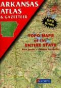 Arkansas Atlas & Gazetteer - DeLorme Publishing Company - Paperback - Illustrated