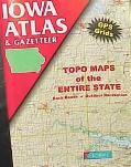 Iowa Atlas - Delorme Publishing Company - Paperback