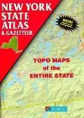 New York State Atlas and Gazetter: Topo Maps of the Entire State - DeLorme Mapping Company -...