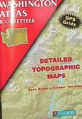 Washington Atlas: Detailed Topographic Maps, Back Roads, Outdoor Recreation