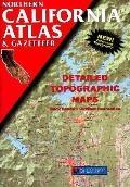 Northern California Atlas & Gazetteer: Detailed Topographic Maps