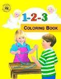 1-2-3 Coloring Book, Vol. 10