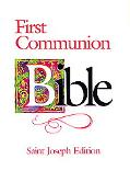 First Communion Bible Good News Translation New Testament  Black Leather-Look