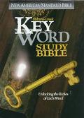 Hebrew-Greek Key Word Study Bible, New American Standard Bible, Leather, Bonded Burgandy