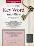 Hebrew Greek Key Word Study Bible NIV Black
