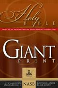 Giant Print Handy-Size Reference Bible: NASB 1977 Edition (AMG Giant Print Handy-Size Bibles)