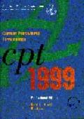 Cpt 1999: Current Procedural Terminology