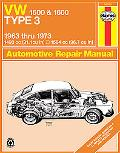 Volkswagen 1500 & 1600 Type 3 Automotive Repair Manual 1963-1973