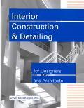 Interior Constr.+detailing F/des.+arch.