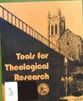 Tools for Theological Research