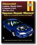 Haynes Manuals 24048 95-03 Impala, M/Carlo,Lumina