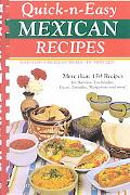 Quick-N-Easy Mexican Recipes Marvelous Mexican Meals, in Just Minutes