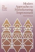 Modern Approaches to Manufacturing Improvement The Shingo System