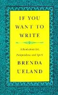If You Want to Write:book About Art