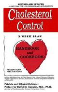Cholesterol Control 3 Week Plan, Handbook and Cookbook