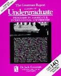 Gourman Report:rating of Undergrad...