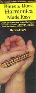 Blues and Rock Harmonica Made Easy