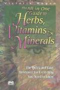 All in One Guide to Herbs, Vitamins & Minerals