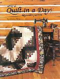 Make a Quilt in a Day Log Cabin Pattern Log Cabin Pattern