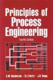 Principles of Process Engineering