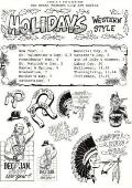 Great Western Clip Art: Holidays Western Style, Vol. 1