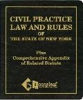 New York State Civil Practice Law & Rules Plus Appendix/With 1995/96 Supplement