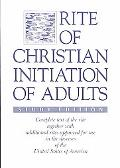 Rite of Christian Initiation of Adults/Study Edition