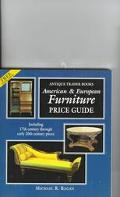 Antique Trader American and European Furniture Price Guide - Michael R. Regan - Paperback
