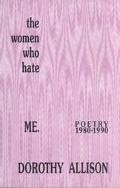 Women Who Hate Me Poetry 1980-1990