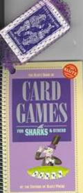 Klutz Book of Card Games For Sharks and Others/Book and Cards