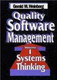 Quality Software Management: Systems Thinking