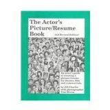 Actor's Picture - Resume Book